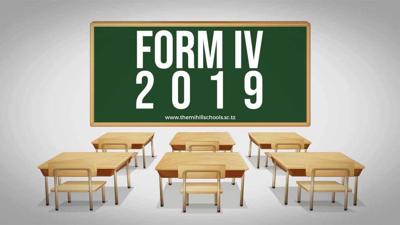 Form Four National Exam Results 2019/20.