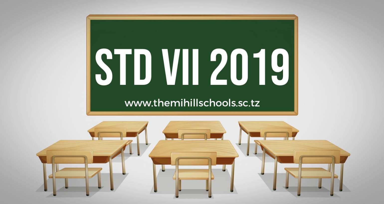 Standard VII National Results 2019- THEMI HILL SCHOOLS